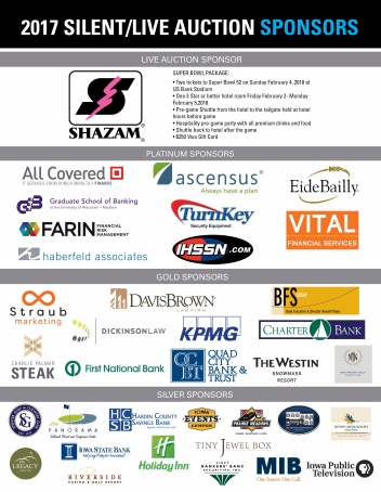 2017 Silent Auction List-Sponsors (2)